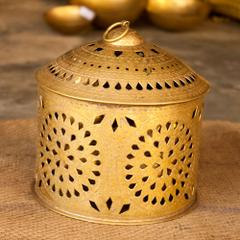 Hand Crafted Brass Akhand Diya