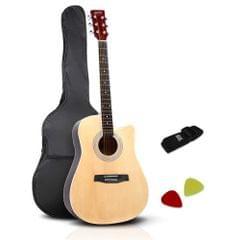 "41"" Steel-Stringed Acoustic Guitar Natural"