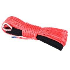 6mm x 15M Dyneema SK75 Winch Rope Red Synthetic Strap Boat ATV 4WD Recovery
