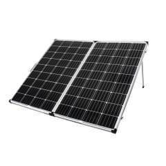 12V 300W Mono Folding Solar Panel Kit Caravan Camping Power Charging Battery
