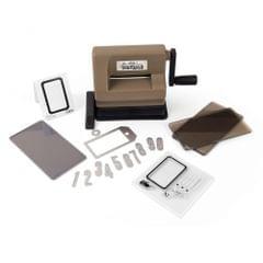 Sizzix Sidekick Starter Kit (Brown & Black) featuring Tim Holtz designs - 662535