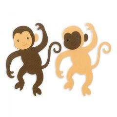 Sizzix Bigz Die - Monkey #3 - A11220