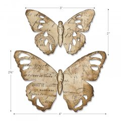 Bigz Die - Tattered Butterfly-664166