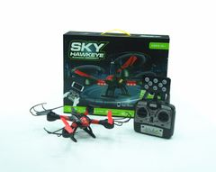 Sky Hawkeye Six-Axis Gyro-Stabilised LED Navigation Quadcopter Real-Time Drone