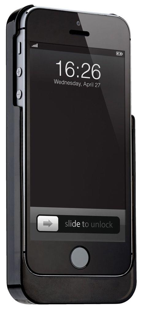 3 in 1 iPhone 5 Hard Cover 1800 mAh Powerbank and Digital Breath Analyser