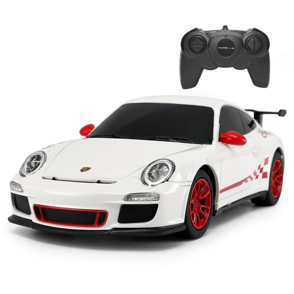 Remote Control Porsche GT3 RS 1:24 Scale White Brand New Sports Car