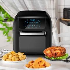 Kitchen Couture Healthy Options 13 Litre Air Fryer 10 Presets LCD Display Black