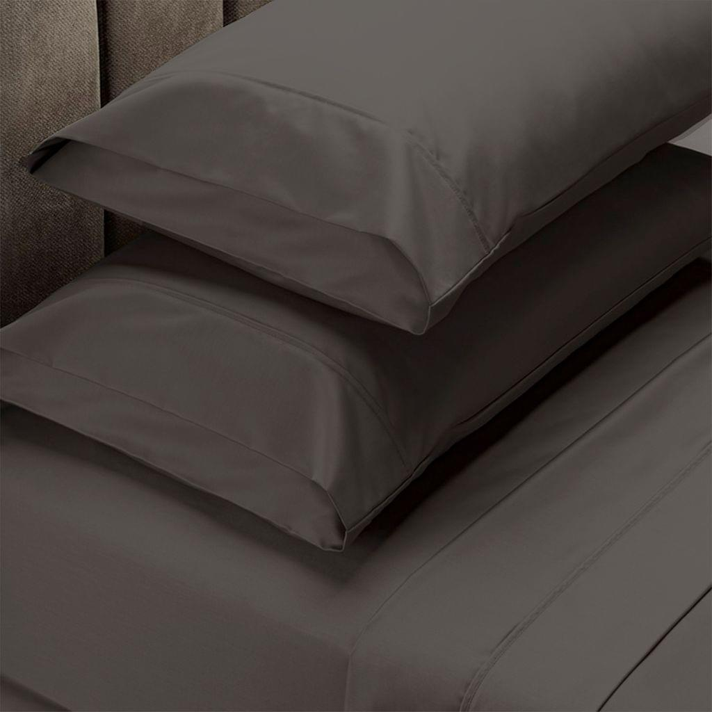 Royal Comfort 1500 Thread Count Cotton Rich Sheet Set 4 Piece Ultra Soft Bedding - Double - Stone