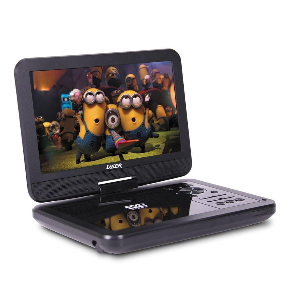 "Portable DVD Player 10"" with Bonus Pack"