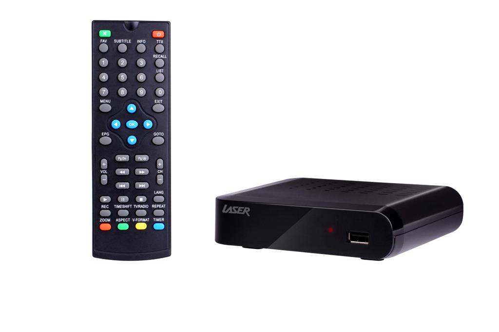 Set Top Box HD PVR HDMI Media 6000