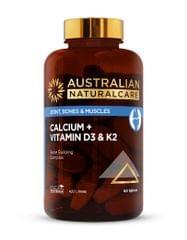 Calcium + Vitamin D3 & K2 60 tabs