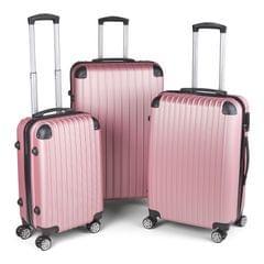 Milano Slim Line Luggage  - Rose Gold 3pc Set