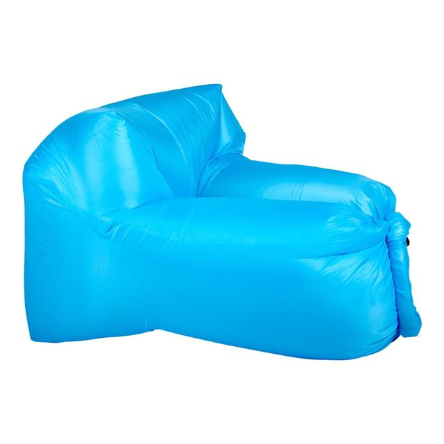 Inflatable Air Lounger - Light Blue