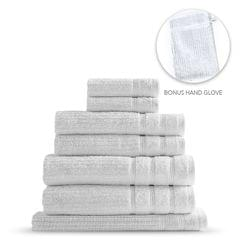 Royal Comfort Eden Egyptian Cotton 600 GSM 8 Piece Towel Pack