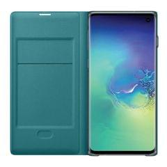 Samsung Galaxy S10 LED View Wallet Cover - Green