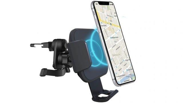 Cygnett Race 10W Wireless Vent Car Charger and Power Adapter