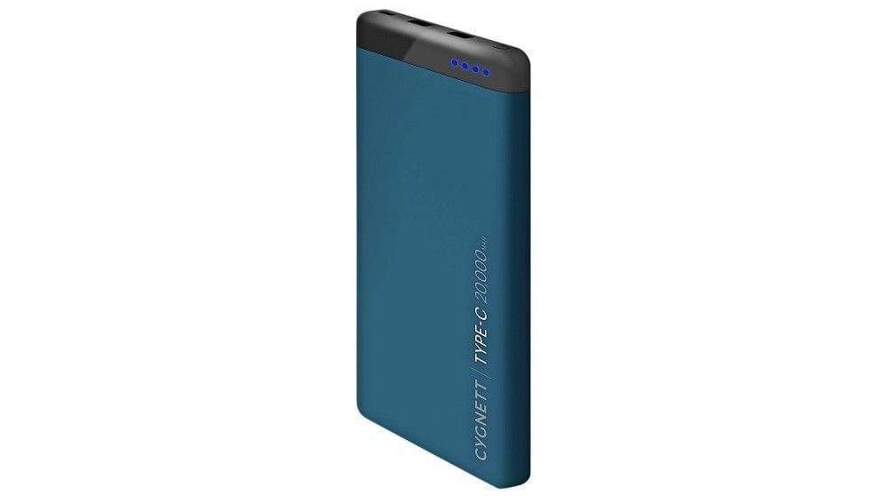 Cygnett ChargeUp Pro 20000mAh Power Bank - Teal