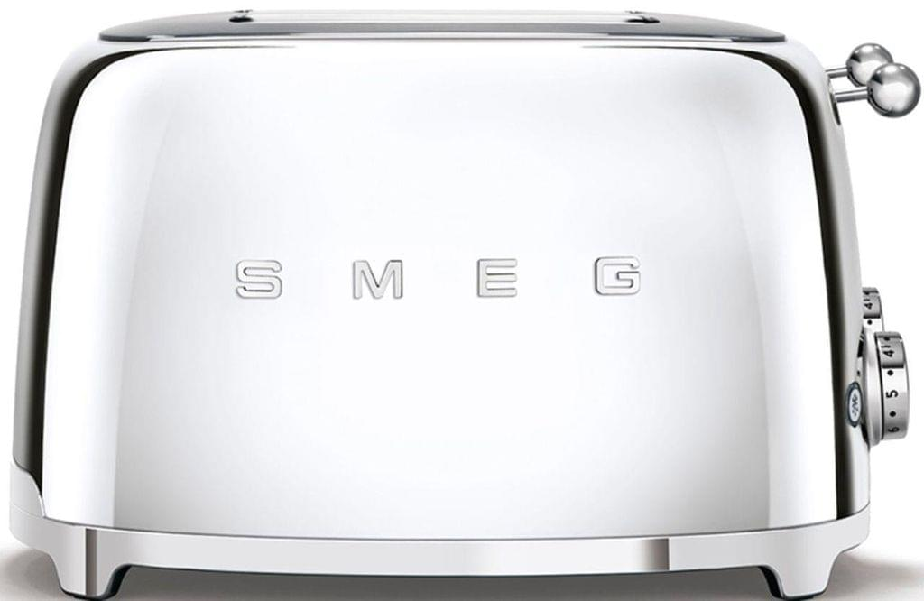 SMEG 50's Style 4 Slice Toaster - Chrome