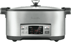 BREVILLE The Searing Slow Cooker - Stainless Steel