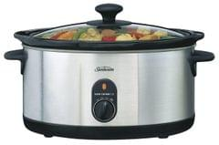 SUNBEAM 5.5L SecretChef Slow Cooker - Stainless Steel