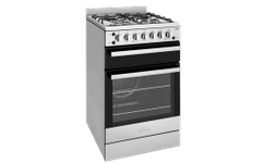CHEF 54cm F/F Gas Oven Upright Seperate Grill w/- Wok Bu