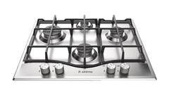 ARISTON 60cm Gas Cooktop CI Trivets & Wok Burner FFD