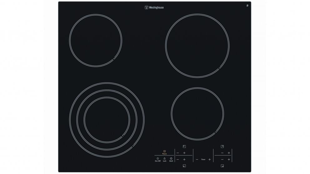 WESTINGHOUSE 60cm Ceramic Cooktop 4 Element Touch Control