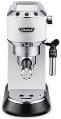 DELONGHI Dedica Pump Coffee Machine - White