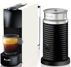BREVILLE Breville - Nespresso Essenza Mini Bundle - White