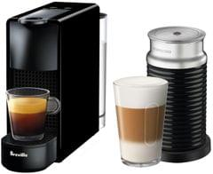 BREVILLE Nespresso Essenza Mini Bundle - Black