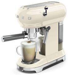SMEG 50's Style Coffee Machine - Panna Cream
