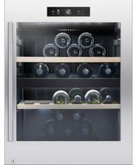 F&P 50 Bottle 106L F/Standing Wine Cabinet Dual Zone