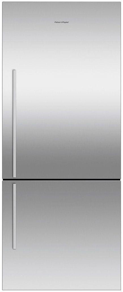 F&P 442 Litre Bottom Mount Refrigerator - Visible Handl