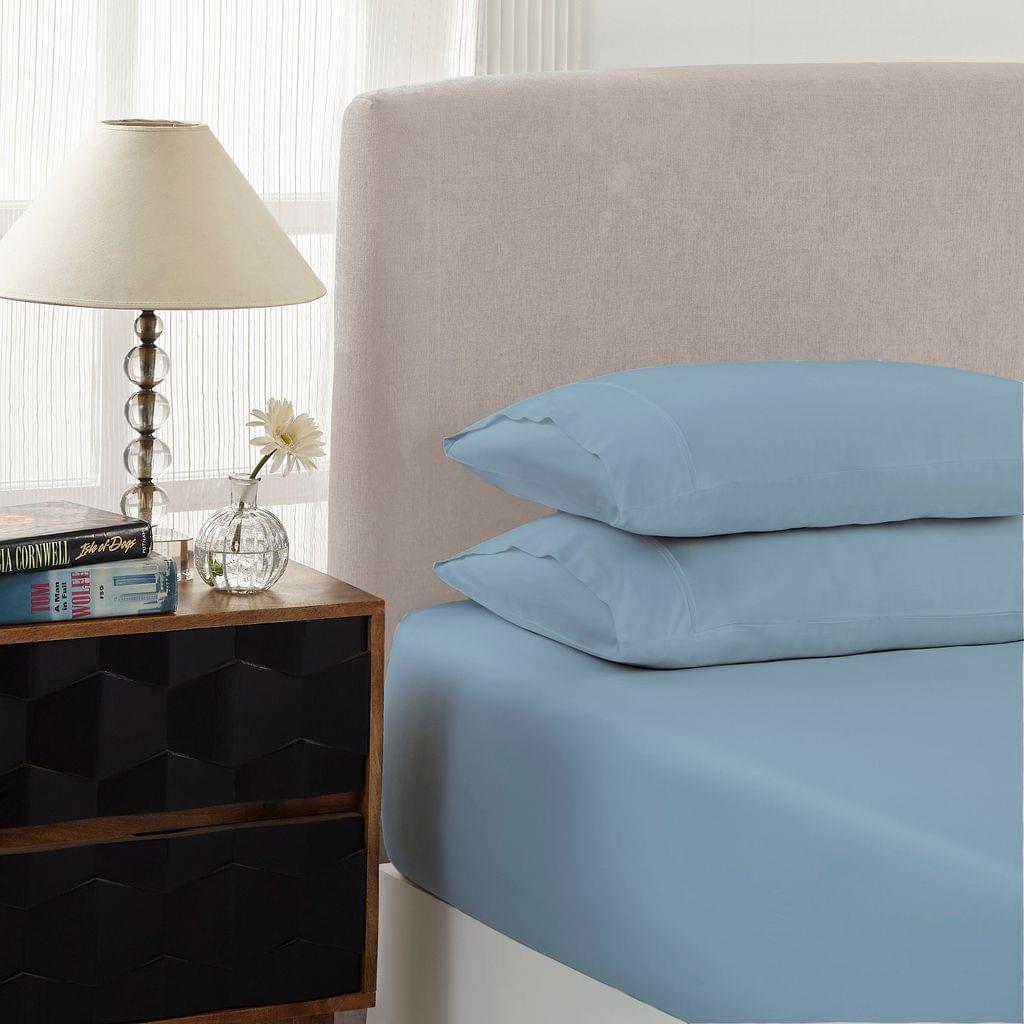 Royal Comfort 1500 Thread Count Combo Sheet Set Cotton Rich Premium Hotel Grade - Double - Indigo