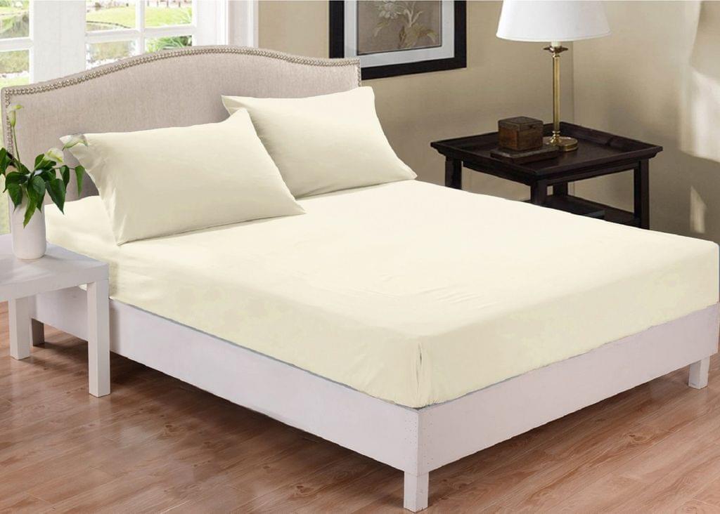 Park Avenue 1000 Thread Count Cotton Blend Combo Set Double Bed - Pebble