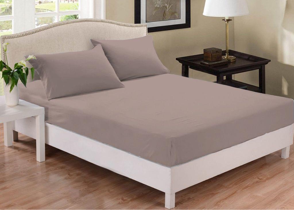 Park Avenue 1000 Thread Count Cotton Blend Combo Set Queen Bed - Pewter