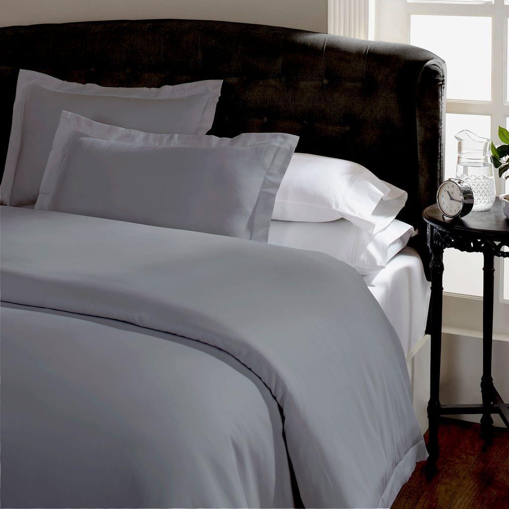 Royal Comfort Queen 1500TC Markle Collection Cotton Blend Quilt Cover Set - Grey