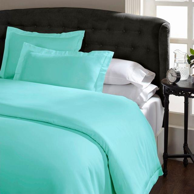 (QUEEN) Royal Comfort 1500TC Markle Collection Cotton Blend Quilt Cover Set - Mist