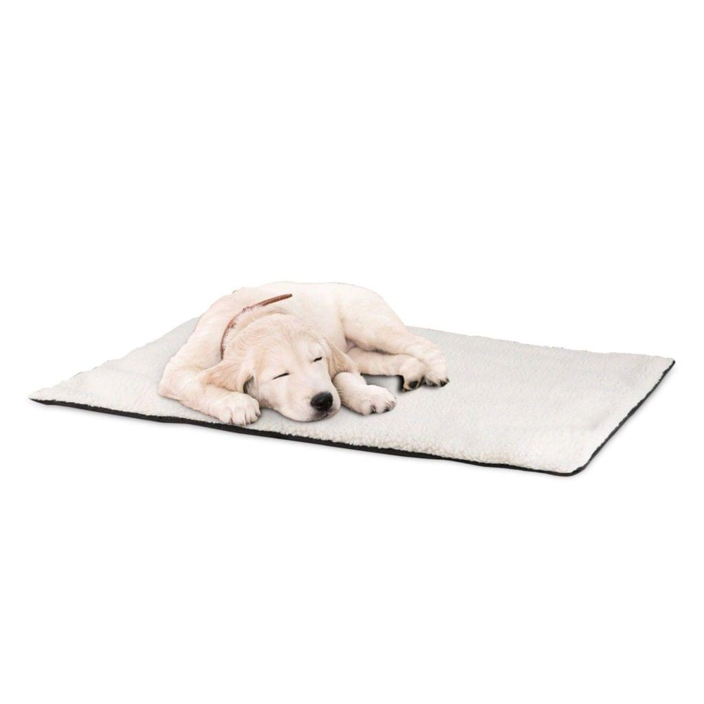 Self-Heating Dog Bed Comfortable Pet Bed Heated Pad Warming Mat Dogs Cats Large