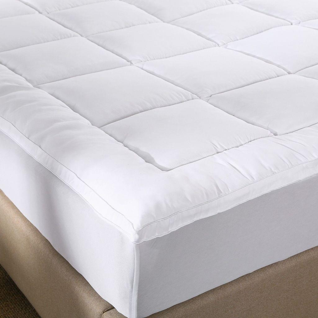 (KING) Royal Comfort 1000GSM Memory Mattress Topper Cover Protector Underlay