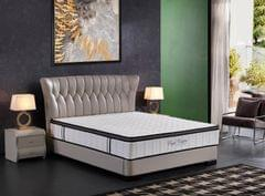Ergopedic Mattress 5 Zone Latex Pocket Spring Mattress In A Box 30cm All Sizes - King Single - White