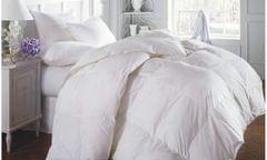Duck Feather & Down Quilt 500GSM + Duck Feather and Down Pillows 2 Pack Combo - Queen