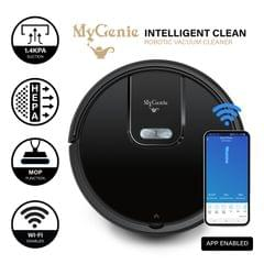 MyGenie WI-FI GMAX Robotic Vacuum Cleaner Mop App Control Dry & Wet Auto Robot - Black