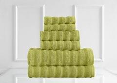 Renee Taylor Maison 600GSM 6 Piece Towel Set 100% Egyptian Cotton Luxury Towels - Spearmint