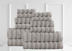 Renee Taylor Maison 600GSM 12 Piece Towel Set 100% Egyptian Cotton Luxury Towels - Spearmint