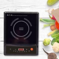 Kitchen Couture Induction Cooktop Portable Kitchen Cooker With Bonus Pot