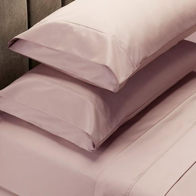 Royal Comfort 1000 Thread Count Sheet Set Cotton Blend Ultra Soft Touch Bedding - Queen - Blush