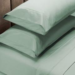 Royal Comfort 1000 Thread Count Sheet Set Cotton Blend Ultra Soft Touch Bedding - Queen - Green Mist