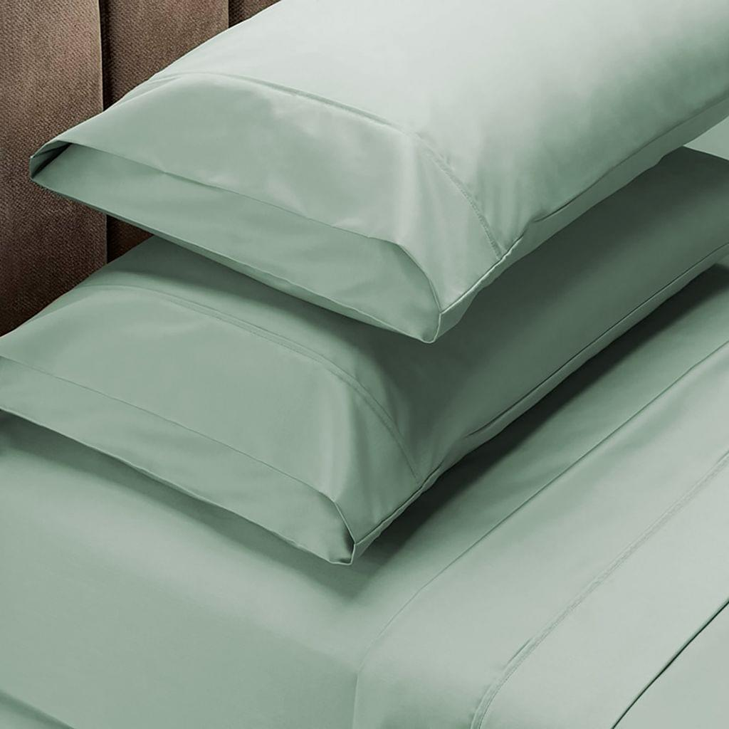 Royal Comfort 1000 Thread Count Sheet Set Cotton Blend Ultra Soft Touch Bedding - King - Green Mist