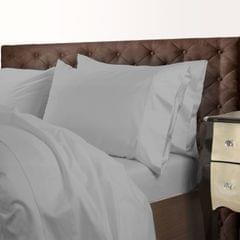 Royal Comfort 1000 Thread Count Cotton Blend Quilt Cover Set Premium Hotel Grade - King - Silver